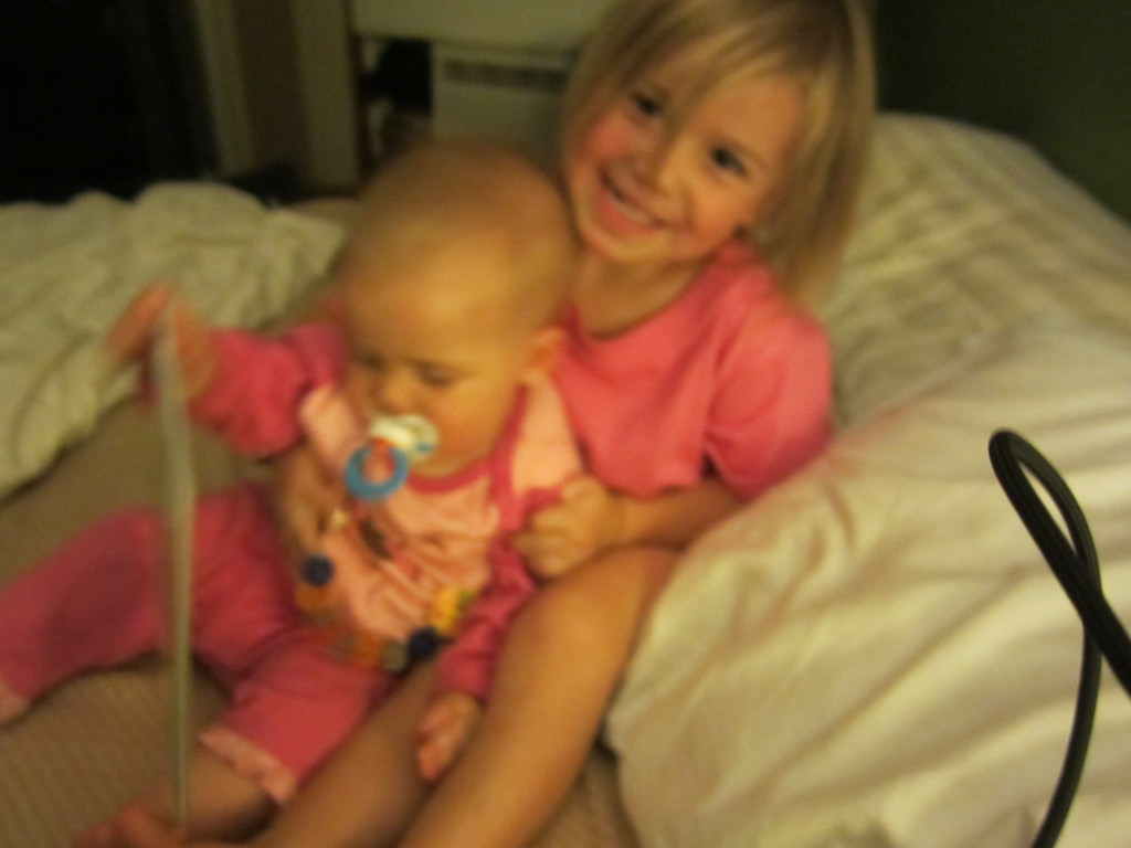Sweet Lucy with Charli when she was a baby!