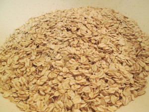4 cups whole grain oats, Not quick cook!