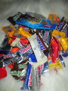 Halloween Candy!  YUMMY!!!