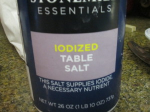Add two tsp of salt!