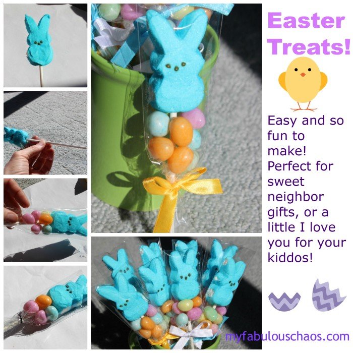 easter peep treats collage