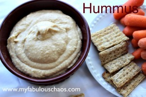 Delicious and EASY Hummus!