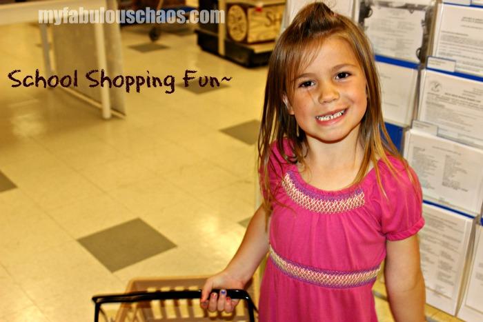 School Shopping!