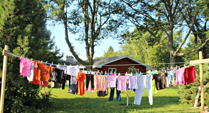 fab five clothesline