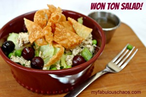Won Ton Salad!