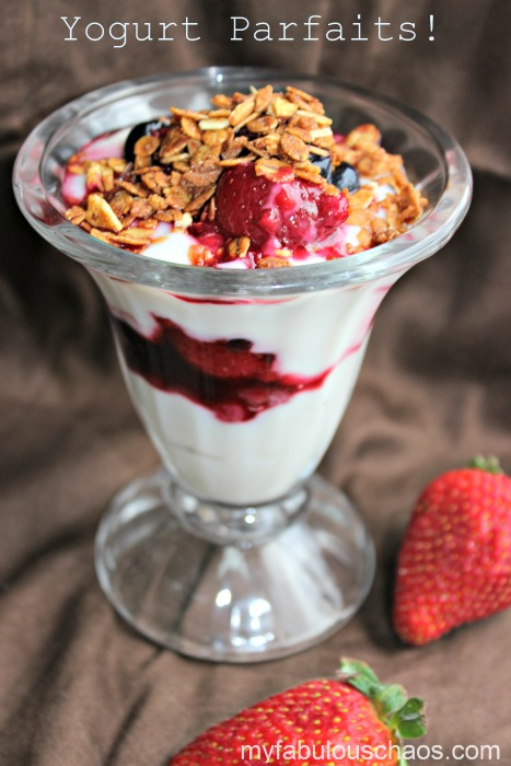 Super Simple Yogurt Parfait