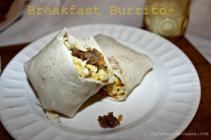 Breakfast Burritos!