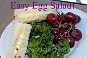 Easy Egg Salad!