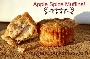 Apple Spice Muffins!