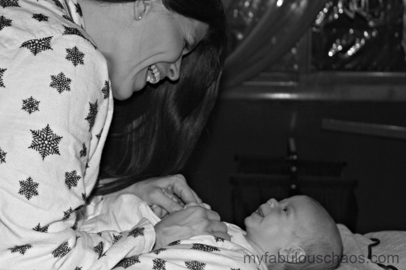 Mommy and Hinckley three