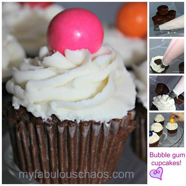 Gum Ball Cupcakes~