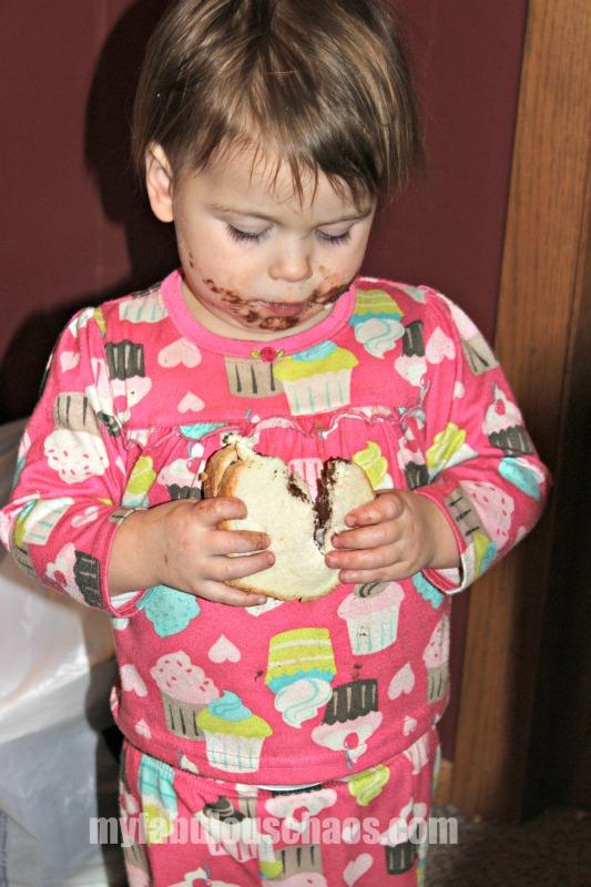 messy moment marsha chocolate 2