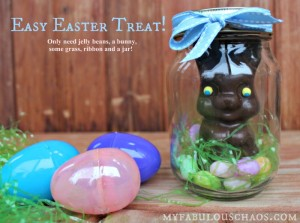 Easter Mason Jar Treat!