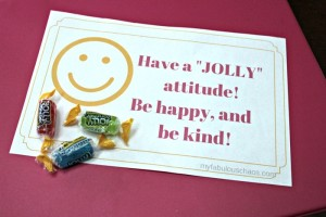 "Summer Love Notes-Have a ""Jolly"" attitude!"