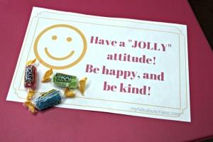 "Summer Love Notes-Have a ""Jolly"" attitude!"