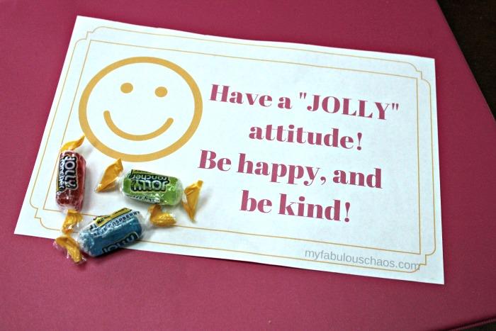 Jolly attitude