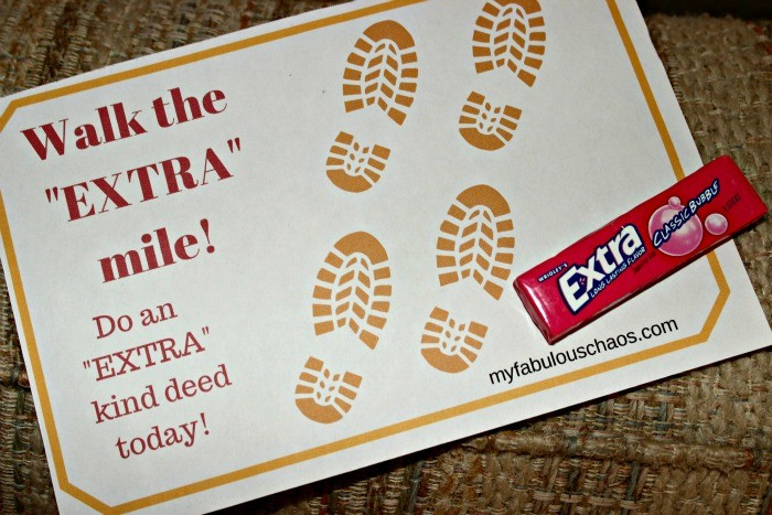 "Summer Love Notes-Go the ""EXTRA"" mile!"