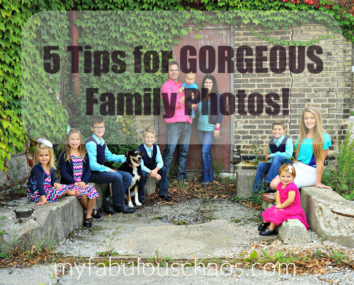 5 tips for gorgeous family photos!