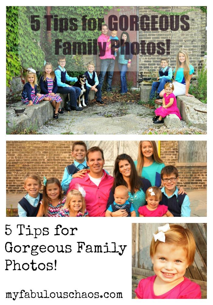 gorgeous family photos