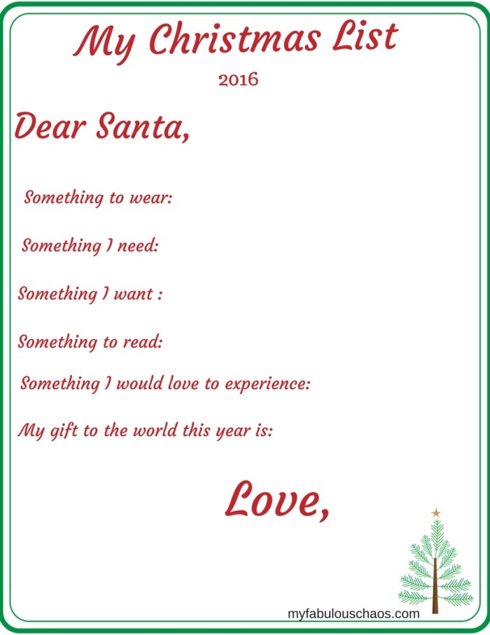 letter to santa to the world